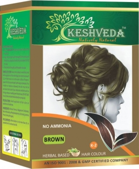 Brown Hair Color 120 gm