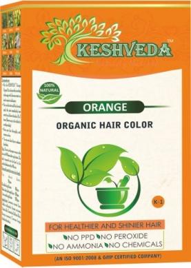 Orange Hair Color